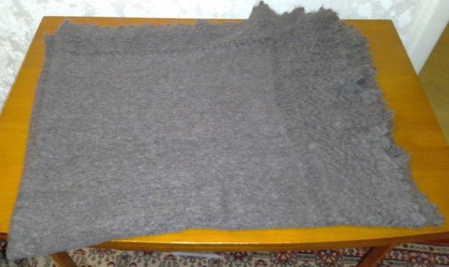 Платок пуховый, оренбургский