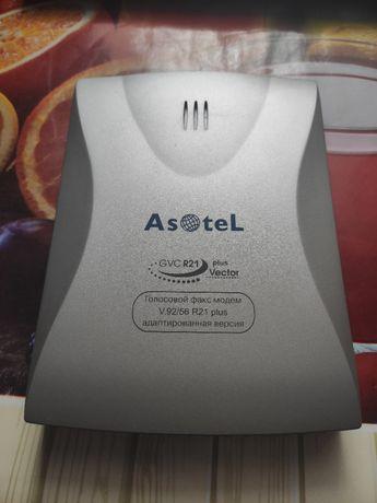 Голосовой факс-модем Asotel GVC R21 Vector