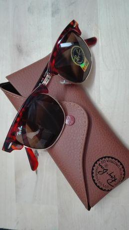 Oculo Ray ban 3016 Clubmaster Tortoise (castanho tartaruga)