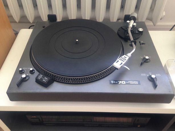 Gramofon Nikko P70 Japan 2xigła Shure hybryda 2 topowych marek okazja