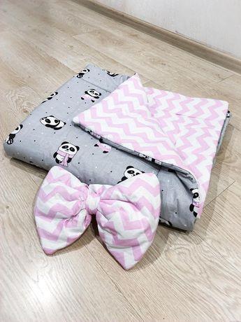 Одеяло на выписку ,в коляску,кроватку,одіяло плед плюш минки
