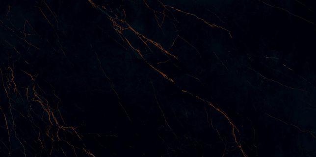 PROMOCJA gres Amber Vein POL czarny marmur złota nitka 239,8x119,8