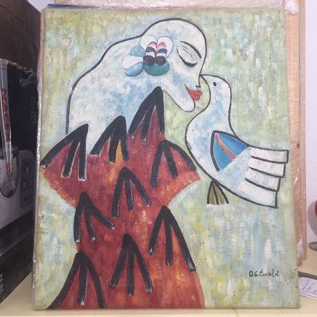 Pintura 60cm*50cm, de Ostwald