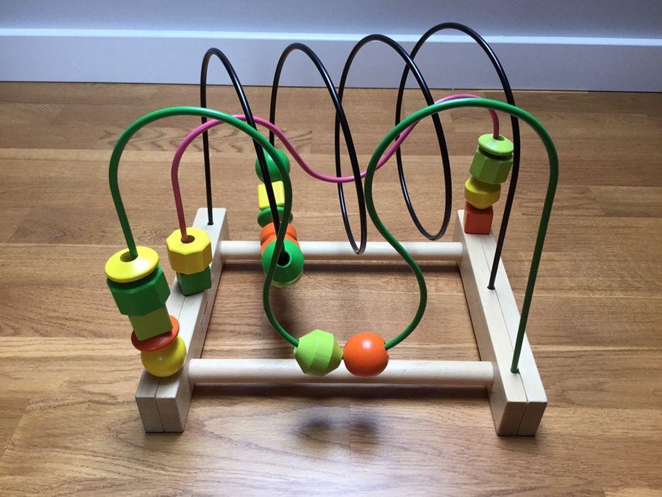 Mula ikea zabawka edukacyjna przekładanka w bdb stanie Stęszew - image 1
