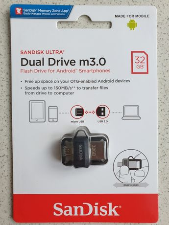 Pendrive Sandisk Ultra Dual Drve m3.0 32GB
