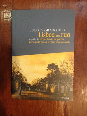 Júlio César Machado - Lisboa na rua