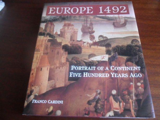 """""""Europe 1492"""" de Franco Cardini - Livro em Inglês"""