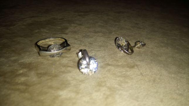 Набор серебрянный