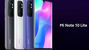 Promocja-najnowszy Mi Note 10 Lite 6gb 64/128 purple/white/black-sklep