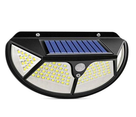 Lampa solarna z czujnikiem ruchu i zmierzchu 102 LED