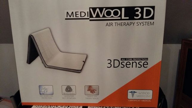 Materac medyczny MEDI WOOL 3 D air therapy system