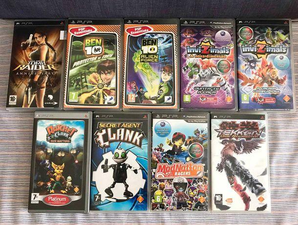 Jogos Filmes PSP Playstation PES, Fifa, Tomb Raider need for speed