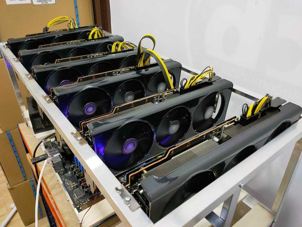 Mining rig 2 rtx 3070 rev1 sem LHR