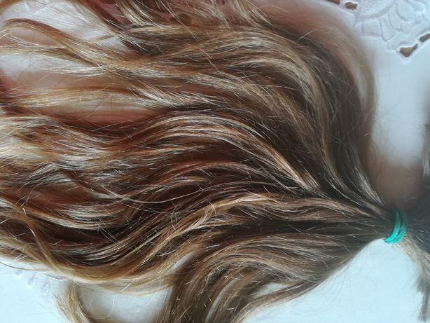 Włosy dziewicze 33-37 cm blond