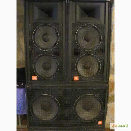 Продам 2 колонки JBL4733A мощность 1200в каждая