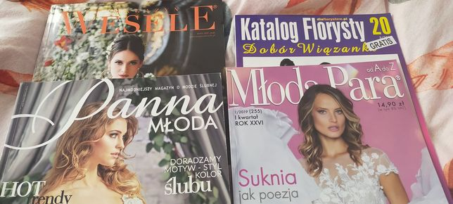 Magazyn ślubny, magazyny ślubne