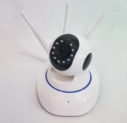 Поворотная Wi Fi IP-камера 3 антенны для видеонаблюдения, видеоняня