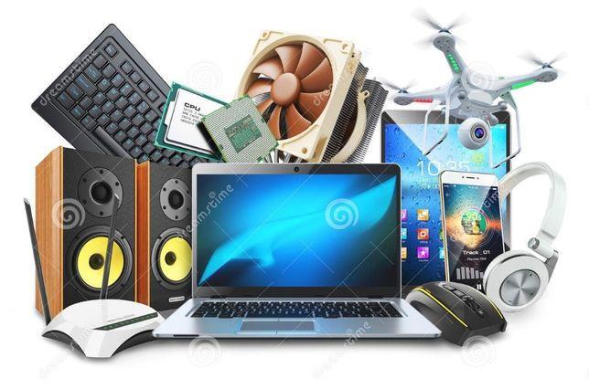 Manutenção de hardware e software (pcs e portáteis)