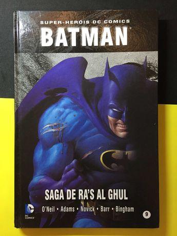 Super-Heróis DC Comics. Bataman, Saga de Ra's Al Ghul (Portes Grátis)