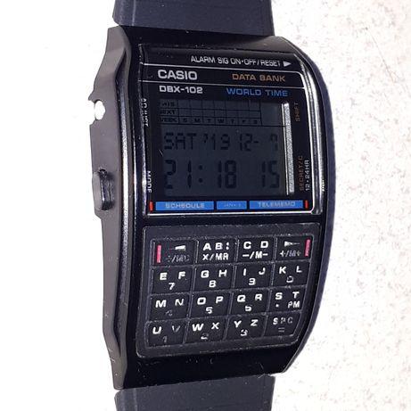 Casio DBX-102 data bank 50 telefonów,vigante,lata 80-te,rare,unikat