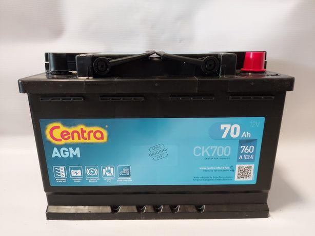 Akumulator CENTRA AGM CK700 70AH 760A