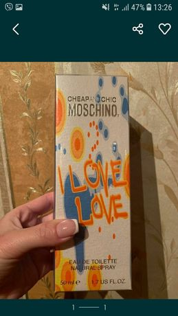 Moschino I love love original