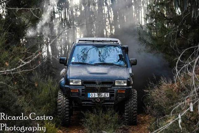 Nissan Terrano 2 TD27 com eixos Patrol Gr Y60