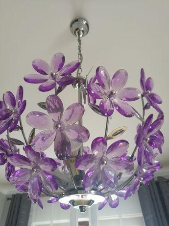Lampki z żyrandolem