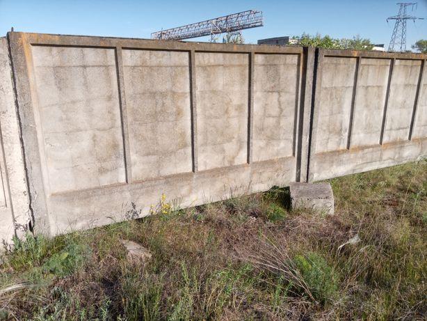 Железо бетонный забор