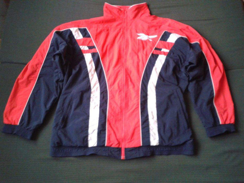 kurtka sportowa reebok z dwoma logami jak nowa tania wysylka Busko-Zdrój - image 1