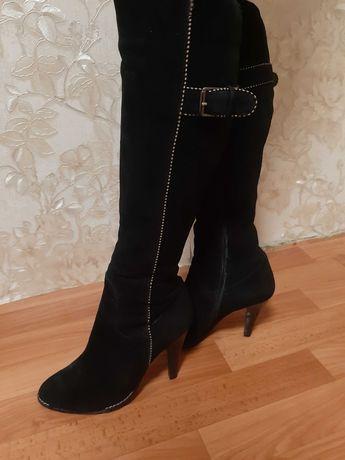 Обувь женская сапоги туфли кожанные