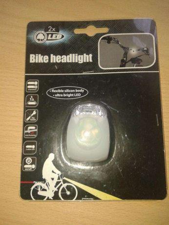 Продам фонарик-мигалку для велосипеда, каски, одежды