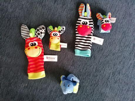 Sozzy sensoryczne skarpetki i opaski na rękę