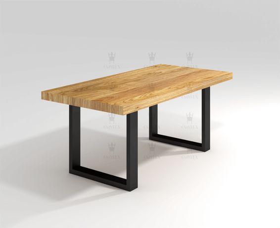 Stół dębowy Loftowy rozkładany AVALON 150/250 cm x 90cm