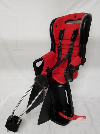 Fotelik krzesełko na rower romer jockey czarno czerwony