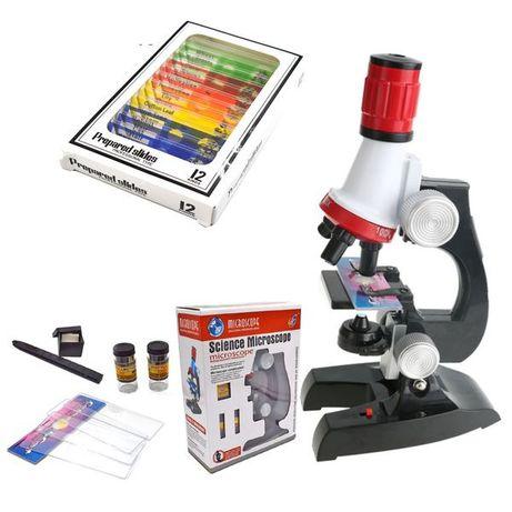 Дитячий мікроскоп. Детский микроскоп.