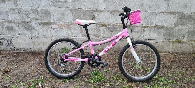 Rower dziecięcy dla dziewczynki Kellys Lumi 30