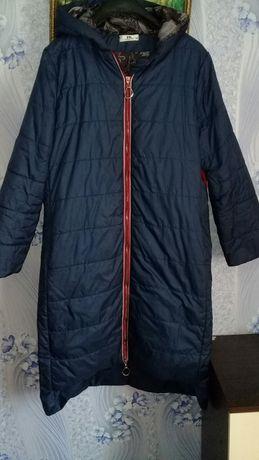 Пальто синтепоновое 56-58размер