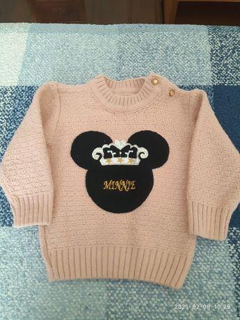 Теплый свитерок детский
