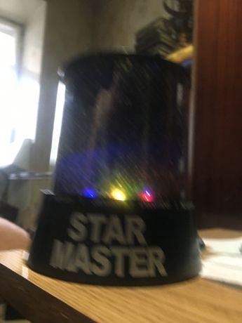 Светильник «Звёздное небо» Детская лампа Ночник Бра настольное