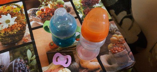 Бутылочка для кормления, соска, пустышка, поильник