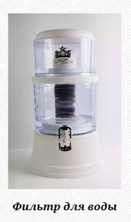 Минеральный шунгитовый фильтр для воды
