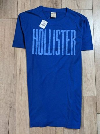Hollister by Abercrombie koszulka męska tshirt unikat napis 22 Nowa L