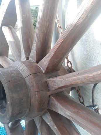 Żyrandol  oryginalne kolo od wozu drabiniastego 67 cm