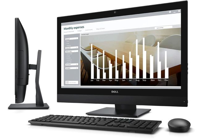 "Моноблок Dell Optiplex All-in-One AIO 7440 23"" 500SSD 16GB i3"