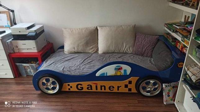 Łóżko chłopięce auto