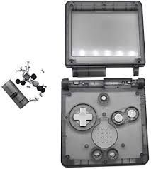 Clear shell Gameboy advance sp