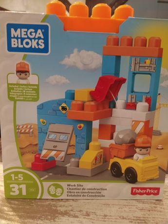 Klocki Fisher Price Mega Bloks plac budowy