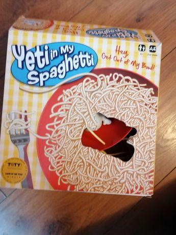 Yeti w moim spaghetti
