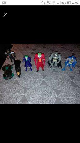 Seleção de figuras do Batman